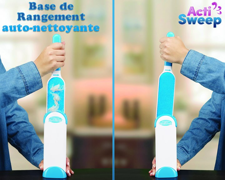 www.weo.eush.fr ACTISWEEP - Euro Shopping WEO - Brosse attrape-poils extra-large